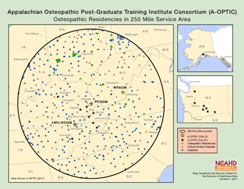 Appalachian Osteopathic Post-Graduate Training Institute Consortium (A-OPTIC)