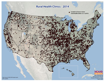 Rural Health Clinics - 2014