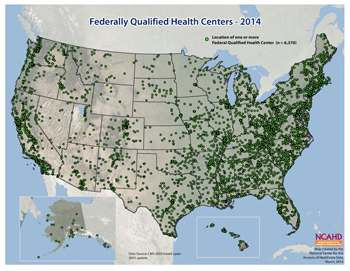Federally Qualified Health Centers - 2014